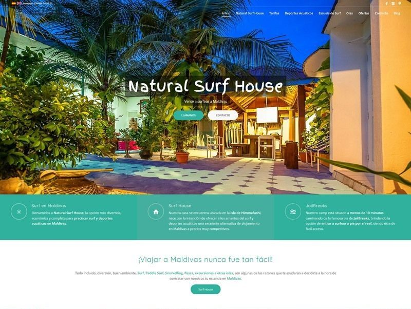 natural surf house web nueva