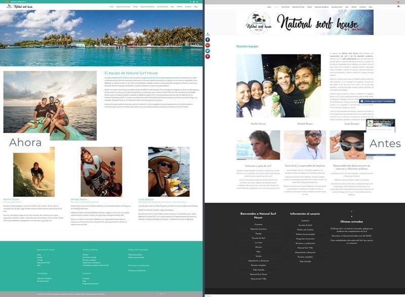 nueva web para natural surf house equipo 2-horz
