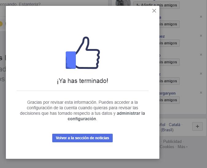 las nuevas reglas de privacidad de Facebook 6