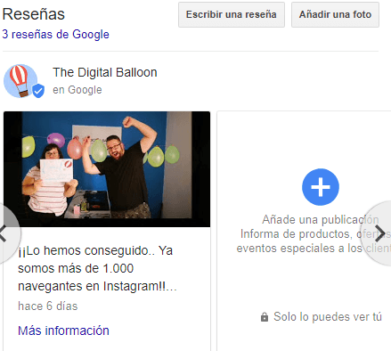 botón Llamar en Google My Business 05