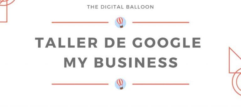Taller sobre Google My Business