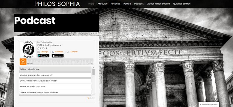 philos sophia diseño paginas web cadiz IVOOX