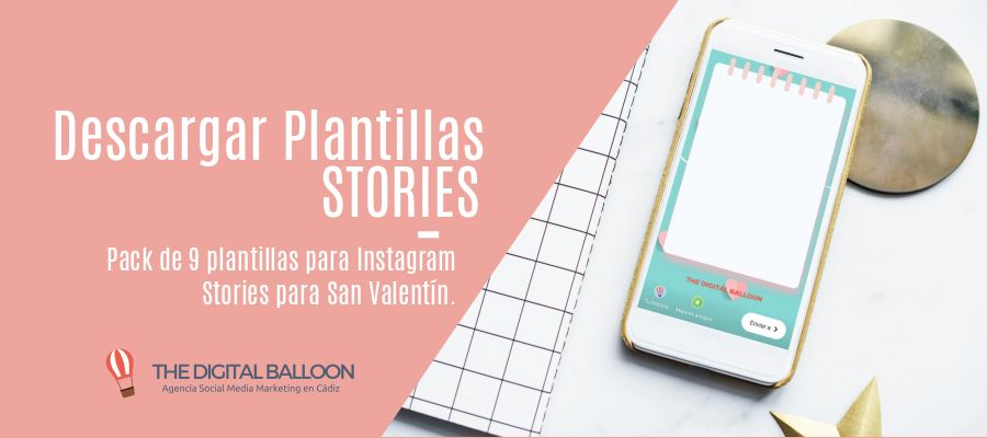 Instagram Stories para San Valentín Portada