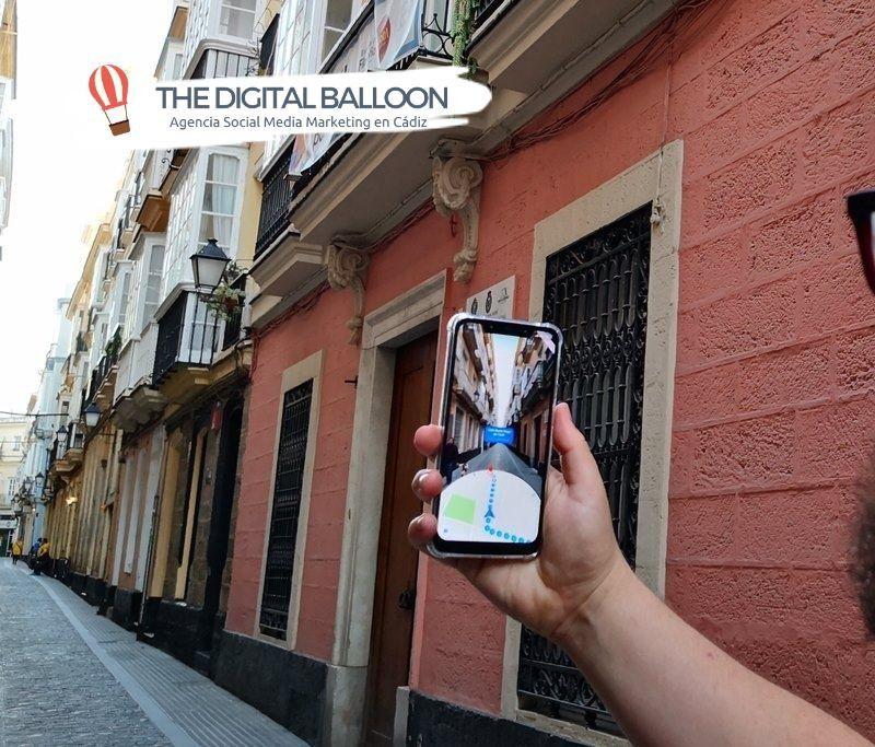 Google Maps con realidad aumentada 01