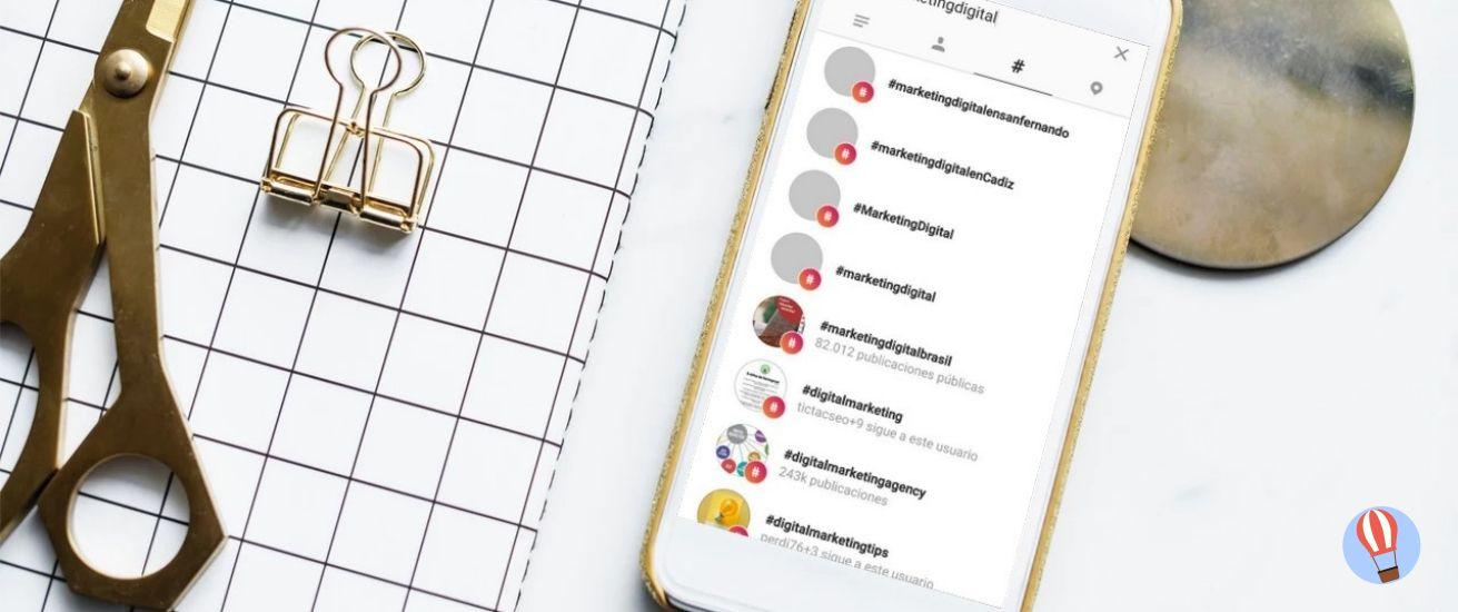 cómo utilizar los hashtags en Instagram
