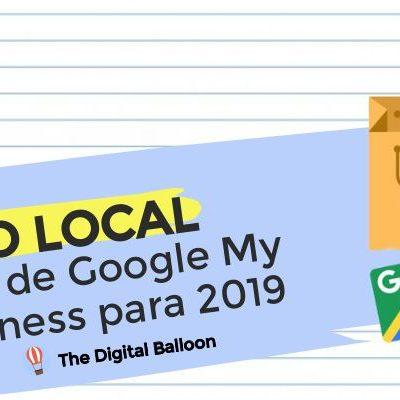 guía de Google My Business para 2019 PORTADA