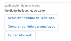 Como hacer una página web gratis con Google 02