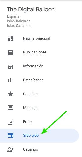 Como hacer una página web gratis con Google 04