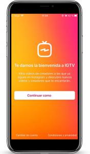 IGTV BIENVENIDA