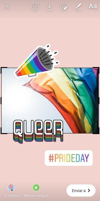 Orgullo LGTB redes sociales