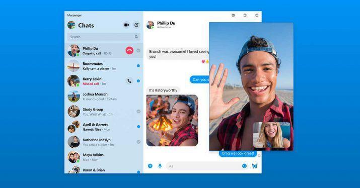 rediseño facebook messenger F8 2019