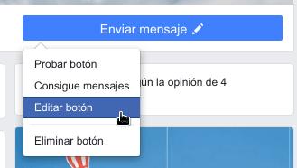 Quitar botón Reservar en Facebook
