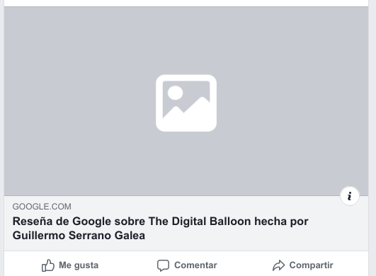 Compartir reseñas de Google My Business en Facebook