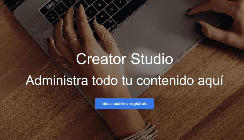 Darse de alta en Creator Studio Facebook