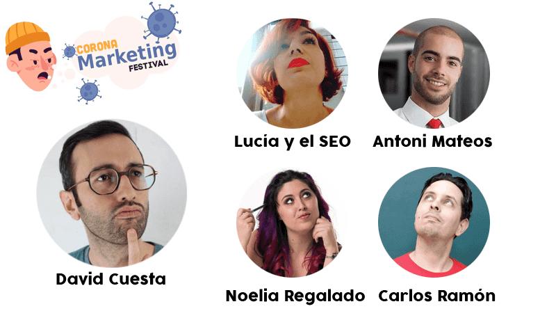 corona marketing festival