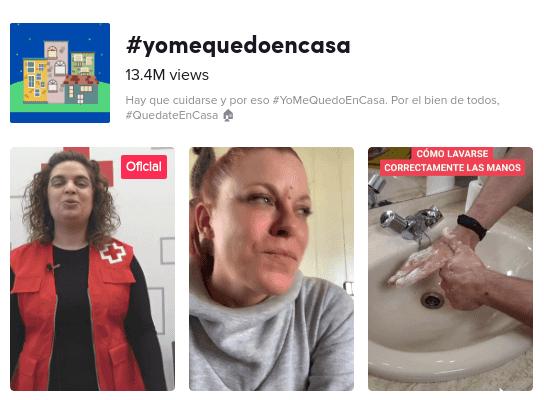 #yomequedoencasa en tiktok