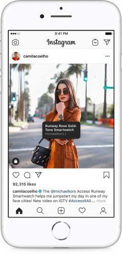 Instagran Shopping Facebook F8 2019